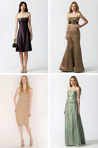 Bridesmaid Dresses on Bridesmaid Dresses Can Also Be Used As Party Dresses  Cocktail Gowns