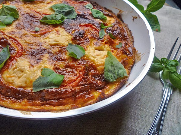 Red Pepper Frittata Recipe