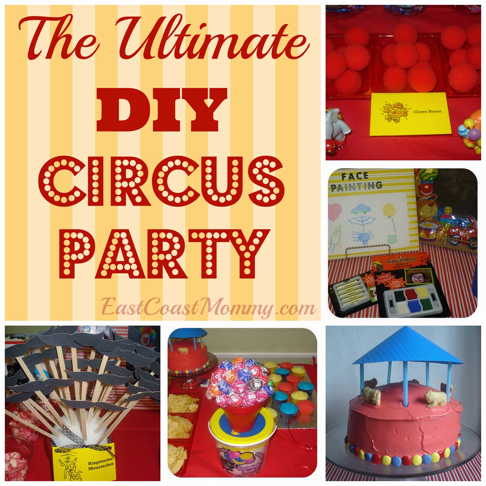 East Coast Mommy: 14+ DIY Party Themes And Tutorials