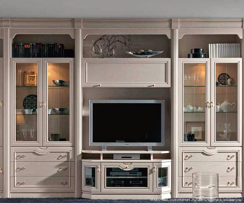 Обновить старую мебельную стенку своими руками