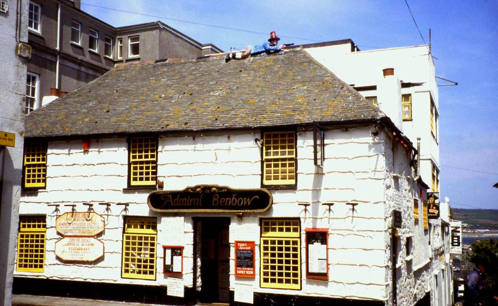 Benbow Inn Haunted of The Admiral Benbow Inn