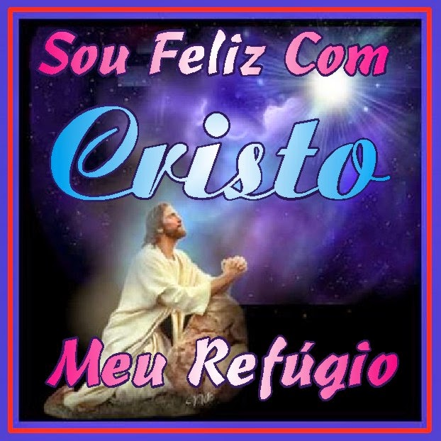 Sou Feliz Com Cristo Jesus