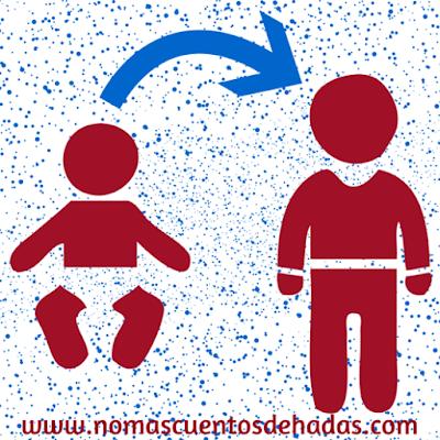 evolución bebé, niño, niña, autosuficiencia