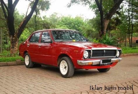 Dijual - Toyota Corolla Klasik 1978, Iklan baris mobil