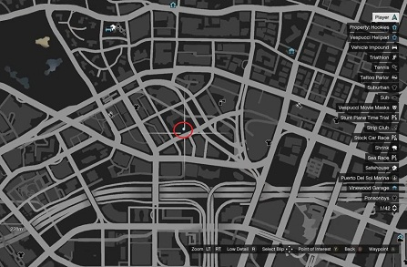 GTA 5, Human Locations, Jane