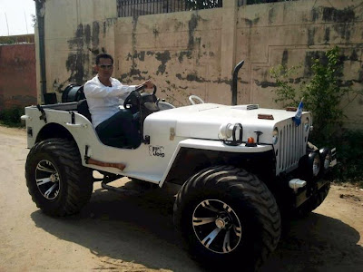 Gippy Grewal In White Jeep   Carry On Jatta