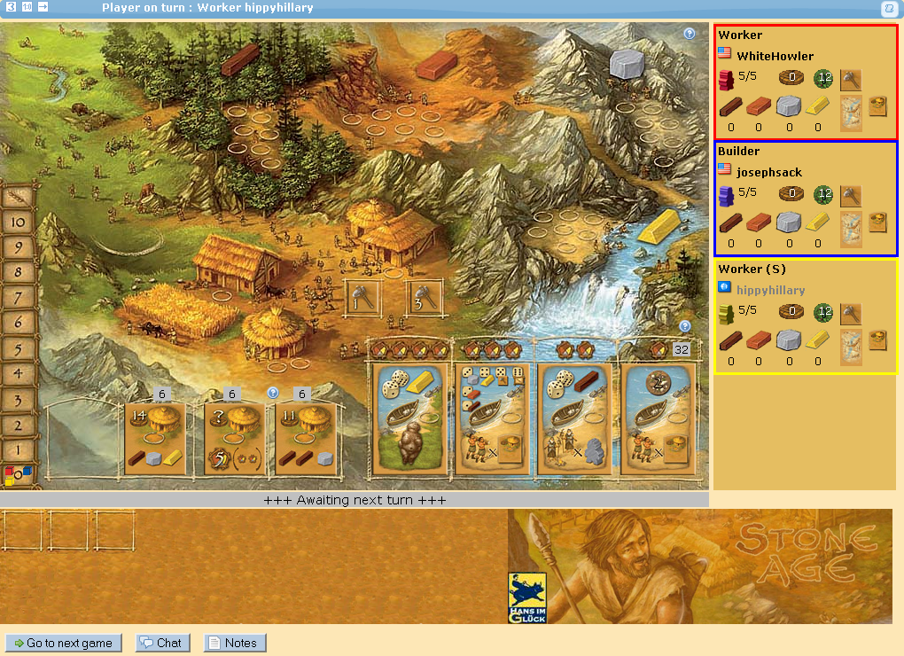 stone age board game online play