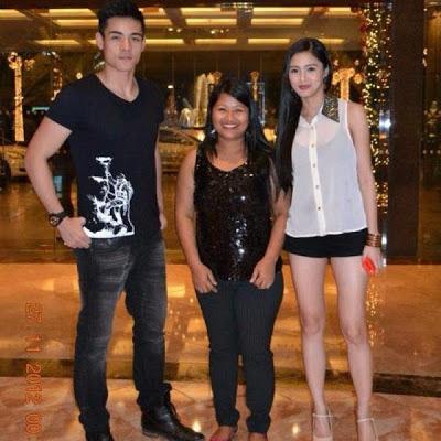 Kim Chiu and Xian Lim Spotted