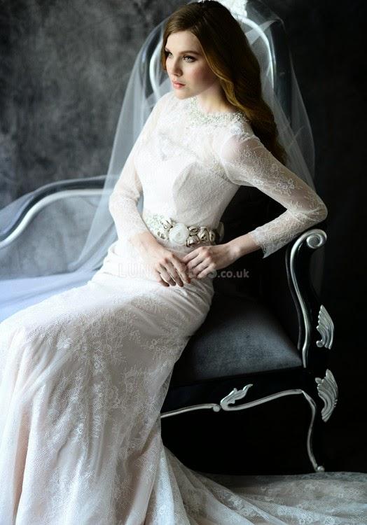 exquisite-jewel-neck-mermaid-lace-floor-