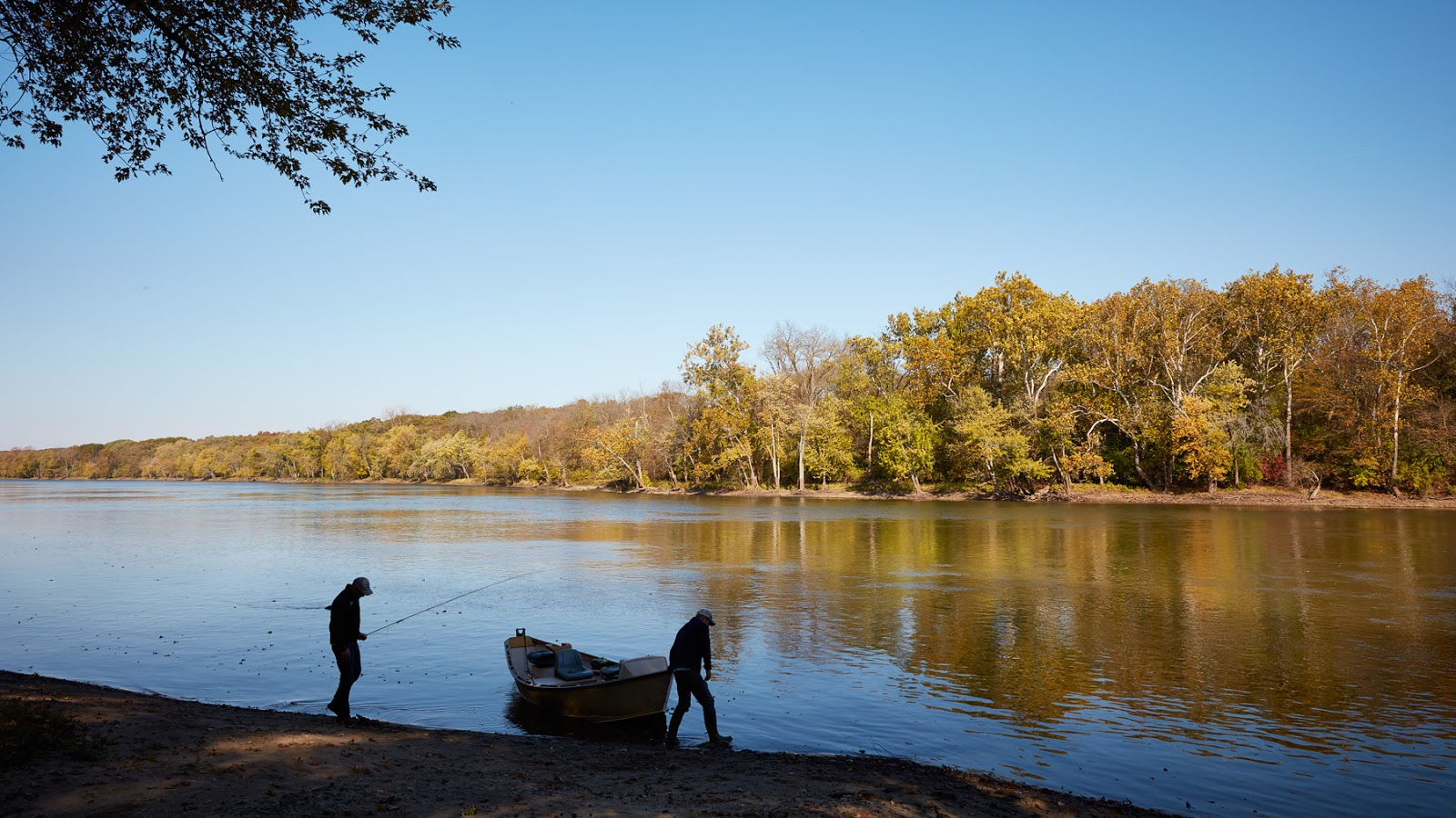 November 2015 big river fly fishing for Trout fishing illinois