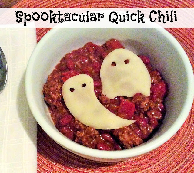 The Happy Little Hive: What's for Dinner [Spooky Quick Chili]