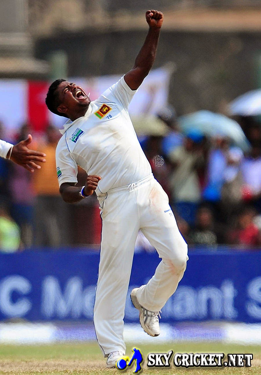 Rangana Herath took 6 for 48 against Pakistan
