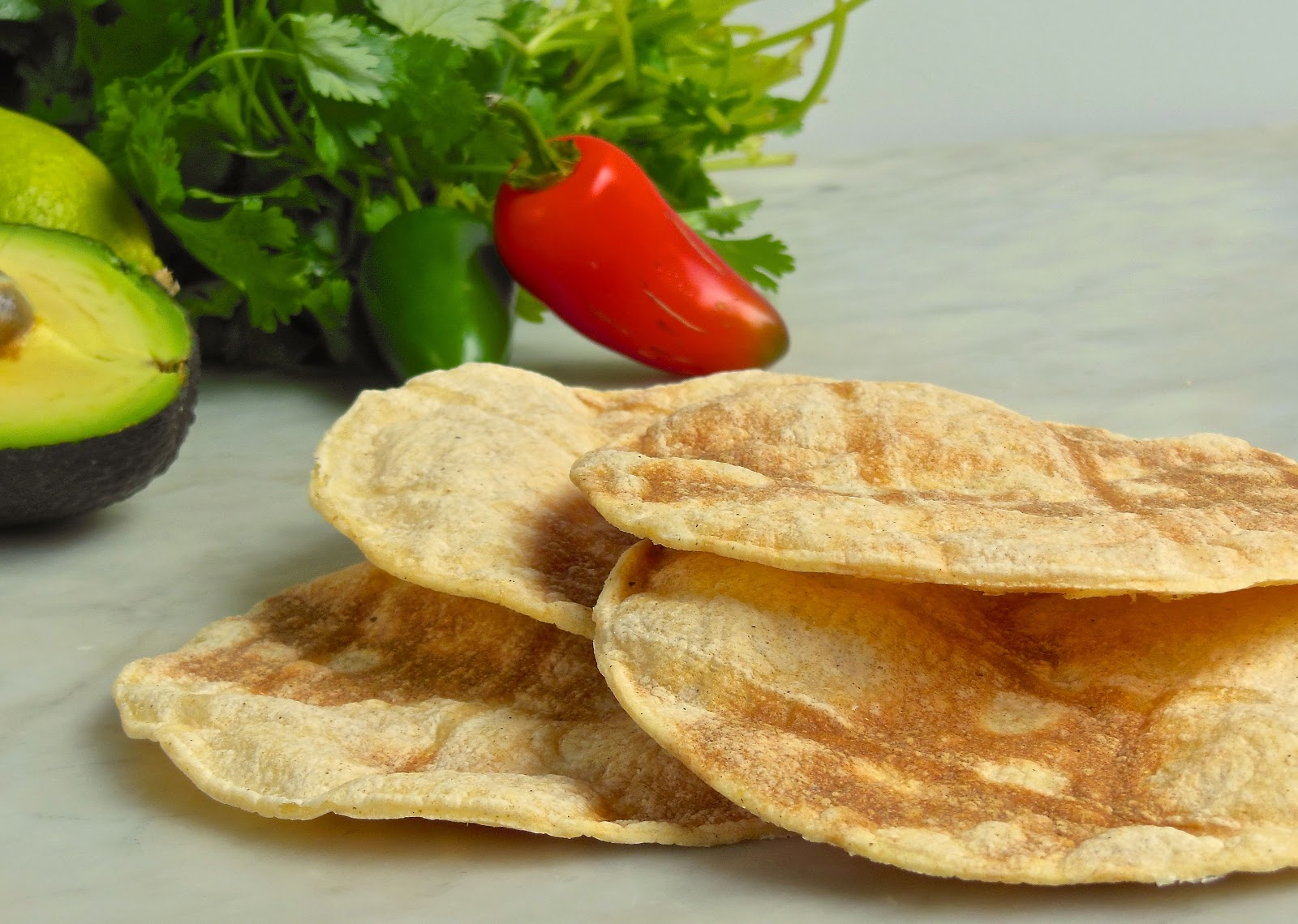 how to fry tortillas to make tostadas