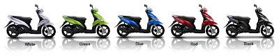 Varian Warna Motor Matic Yamaha Mio J