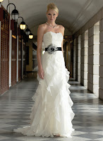 examples of the current wedding dress 2011