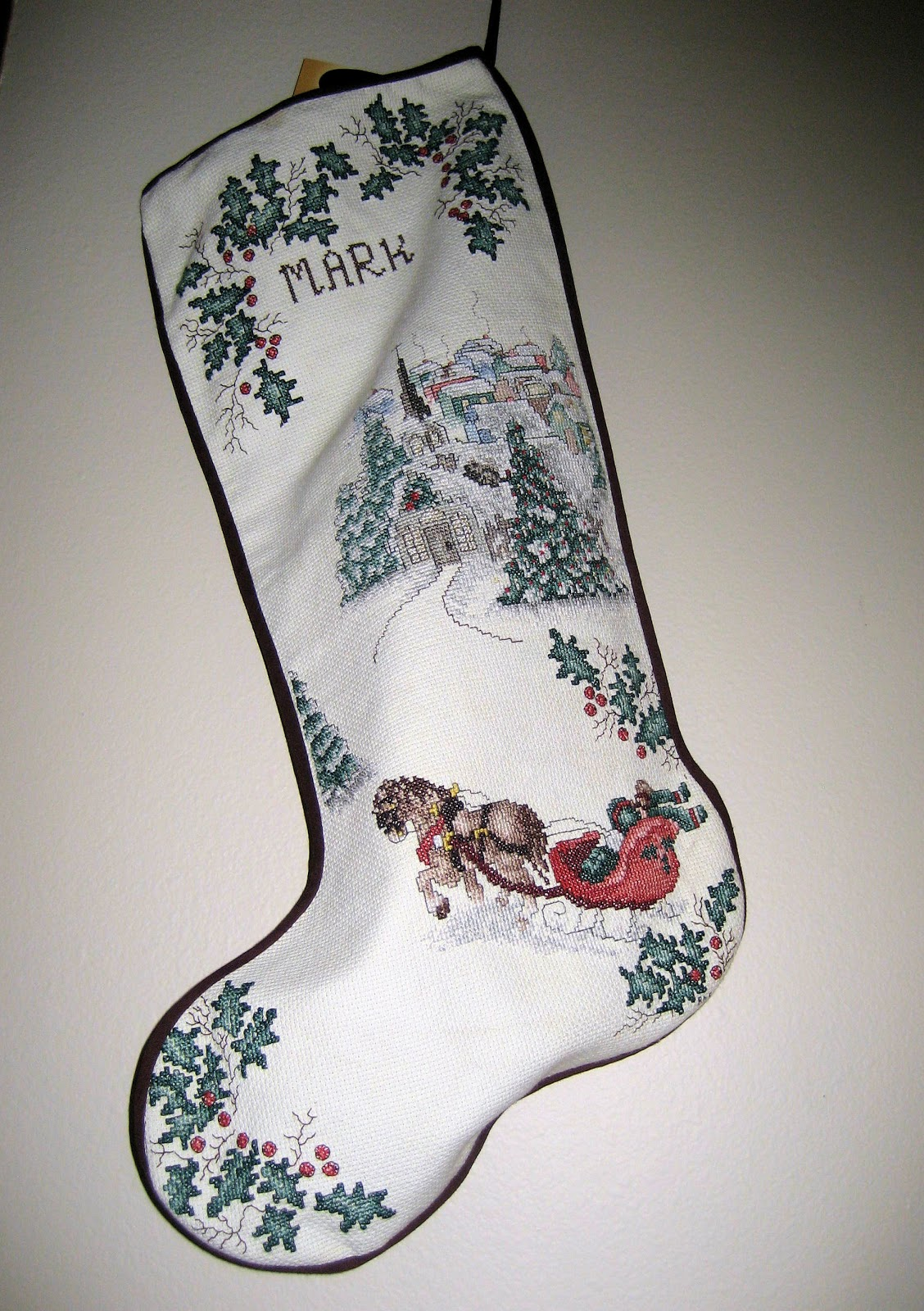 Family Set Of Christmas Stockings
