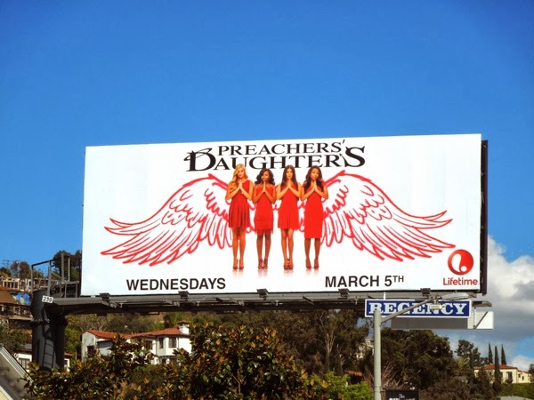 Preachers Daughters series 2 billboard