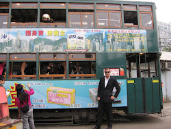 Me in front of the Tram.