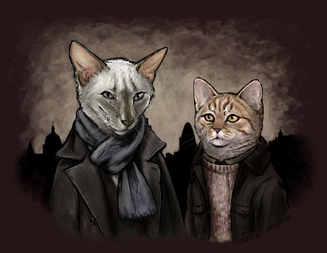 Purrlock Holmes
