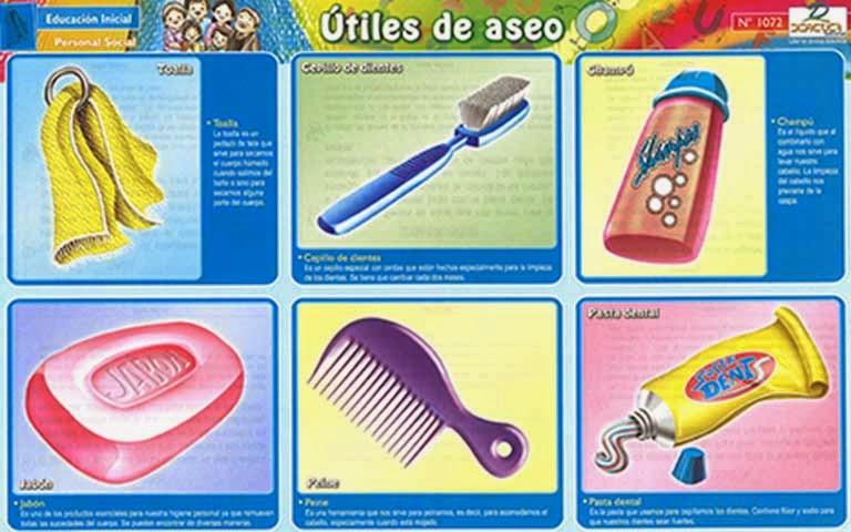 images de utiles de aseo imagui