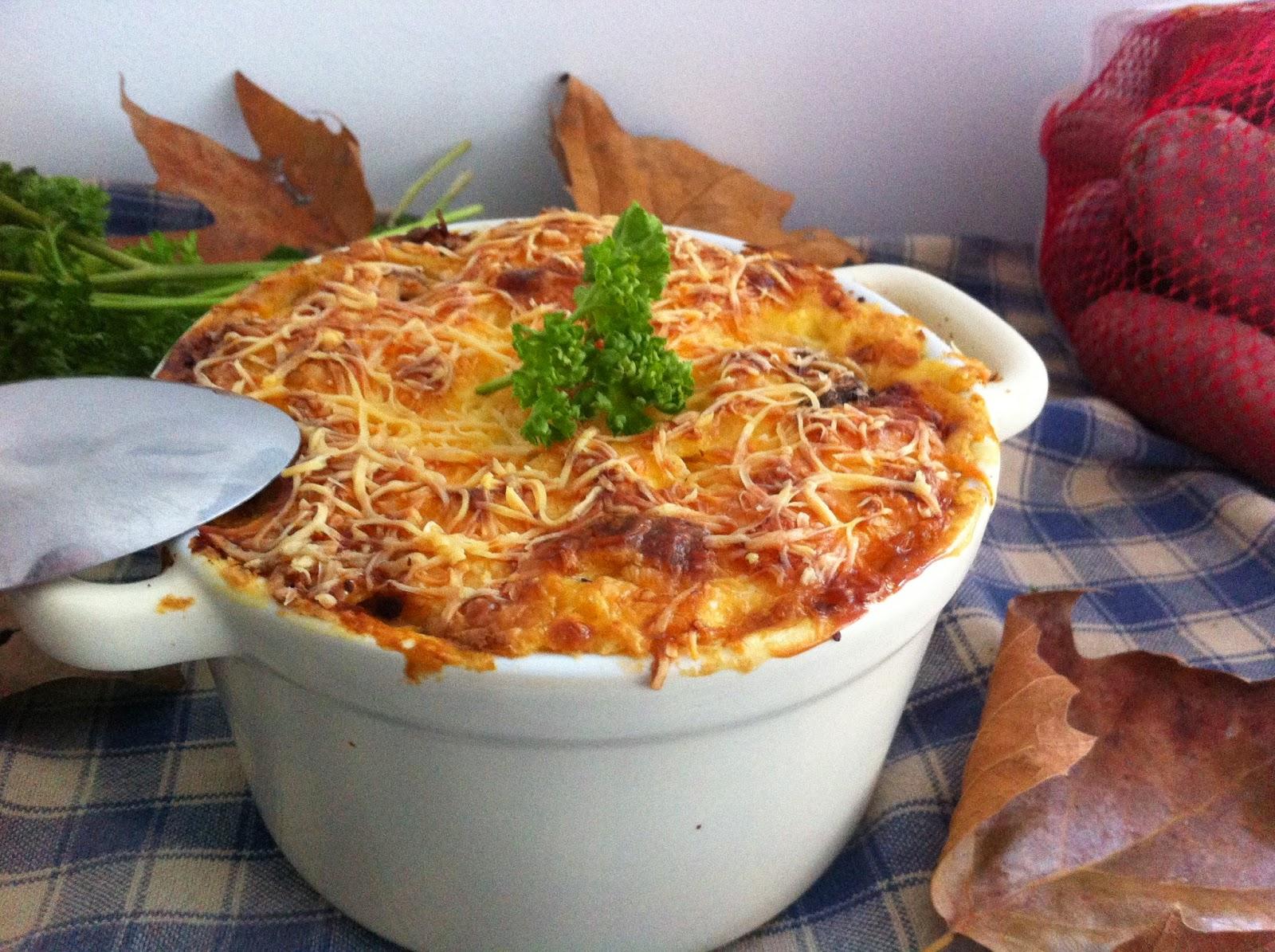 Gratin, cocotte, automne, potiron, potimarron, bleu d'Auvergne, roquefort, pomme de terre, patate