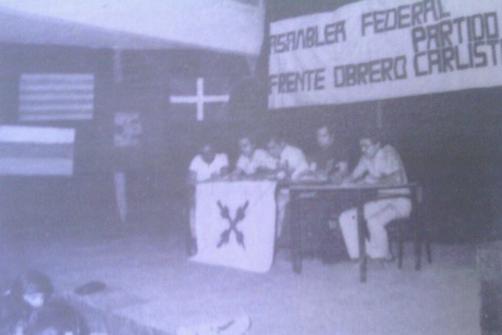Asamblea Federal Frente Obrero Partido Carlista Julio 1976