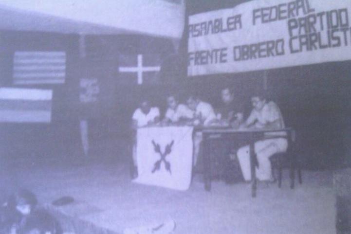 Asamblea Federal Frente Obrero Partido Carlista Julio 1976