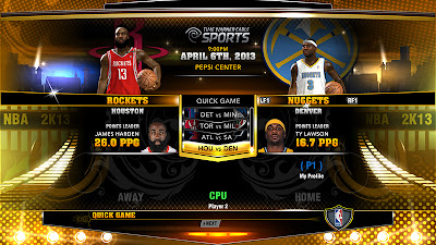 NBA 2K13 Game art mod