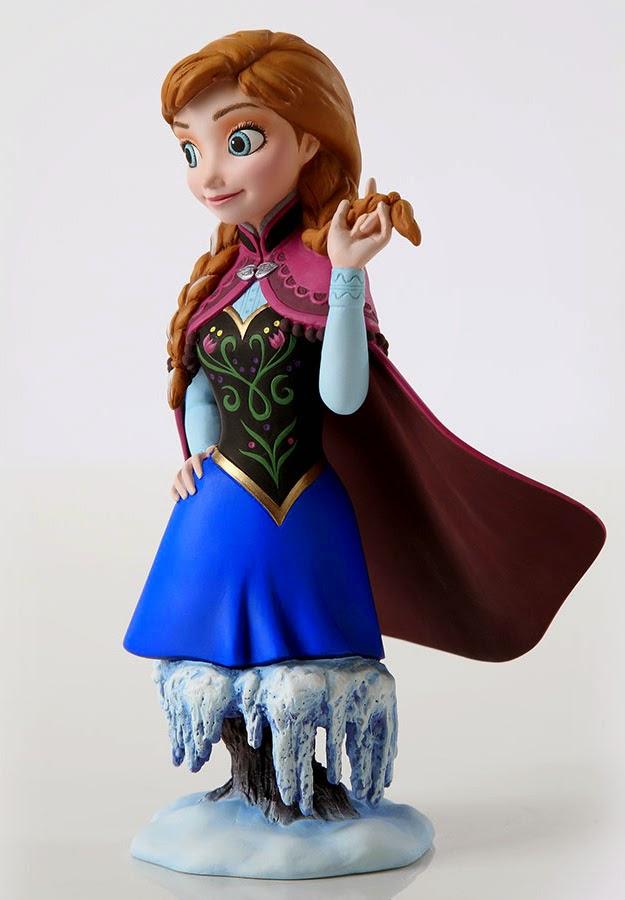 Anna Frozen Bust