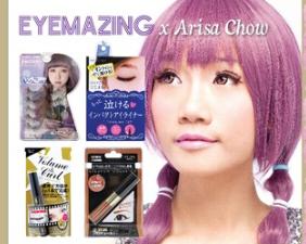 EYEMAZING JP x ARISA CHOW