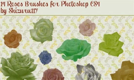 Roses Brushes for Photoshop