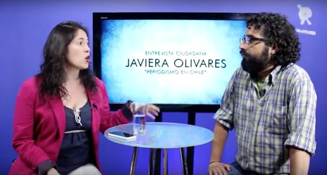 """[VIDEO] Presidenta Colegio de Periodistas, Javiera Olivares: """"En Chile hay un paraguas legal que bloquea el derecho a la comunicación"""""""