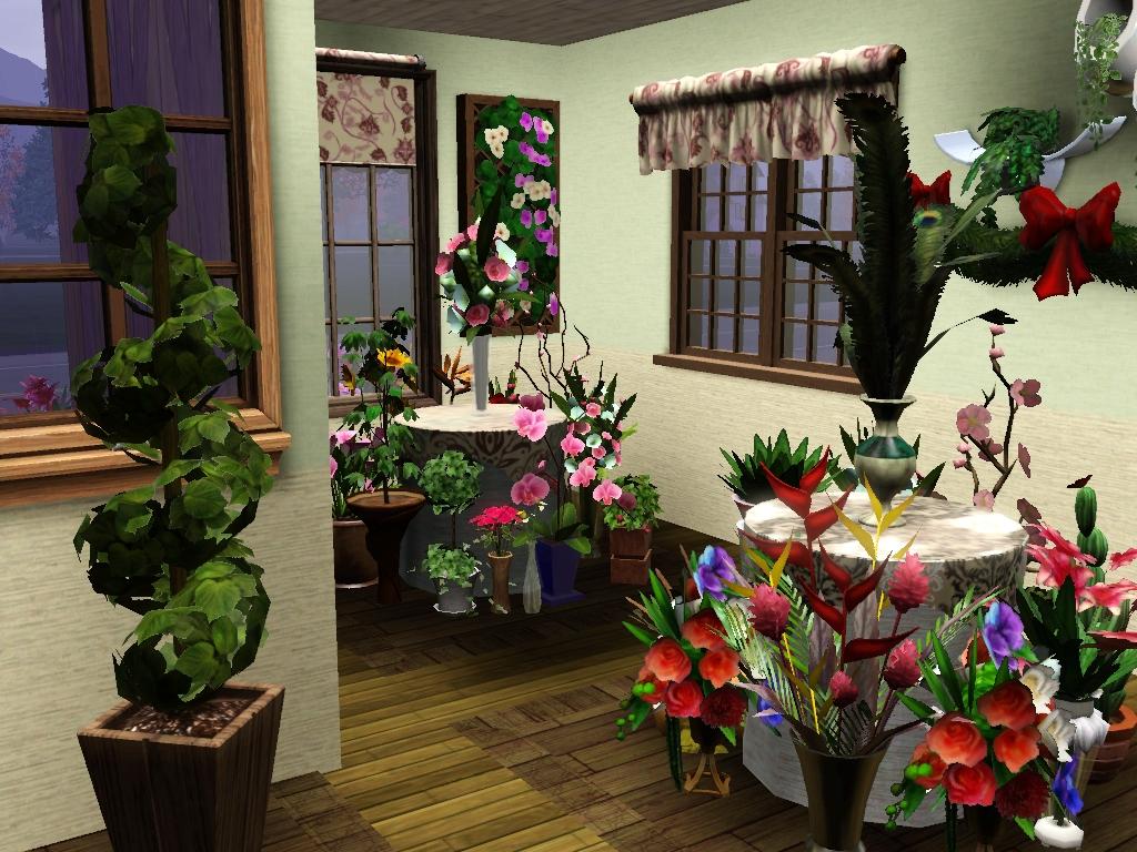 my sims 3 blog mayflower 39 s flower shop by emma. Black Bedroom Furniture Sets. Home Design Ideas