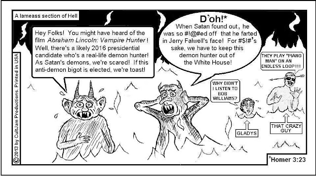 jerry falwell cartoon comix