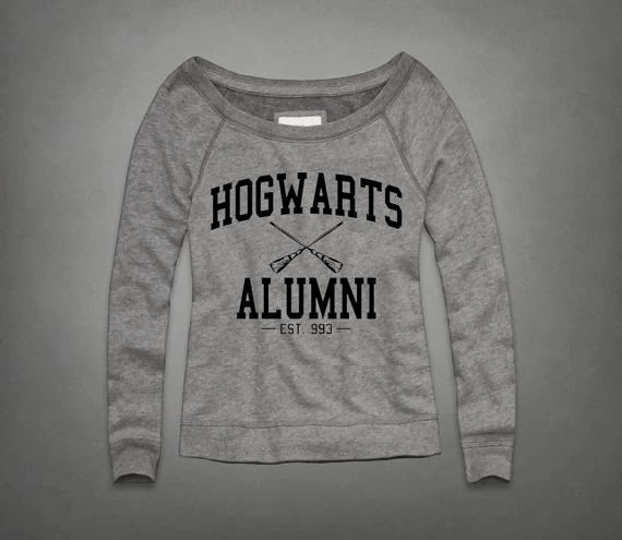 Doeblerghini Bunch:  Thank You Gifts - Hogwarts Alumni Sweatshirt