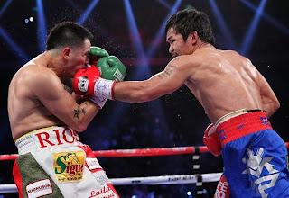 Bam Bam Rios, Manny Pacquiao Decisions Brandon Rios, Pacquiao beat Rios, Pacquiao wins