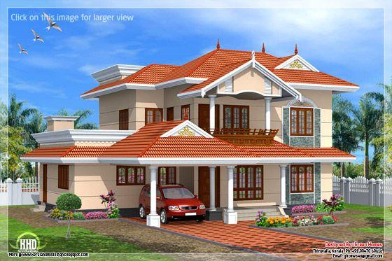 Kerala style home design