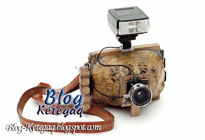 Kamera yang diperbuat daripada haiwan