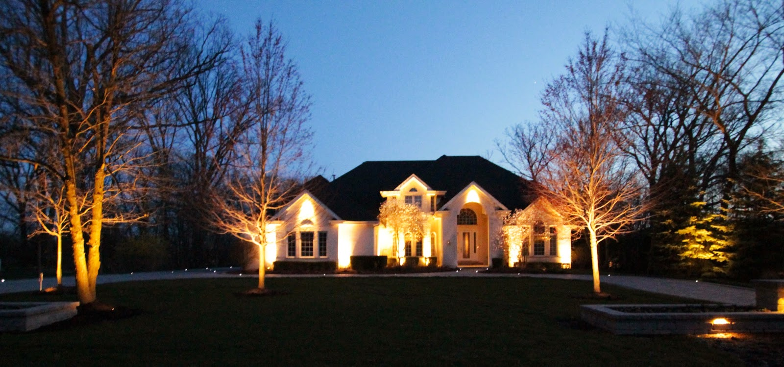 Landscape lighting led landscape lights beyond the spotlight but modern landscape lighting has evolved beyond the spotlight new fixtures enter the market each year and two of my favorite are the led hardscape light aloadofball Image collections