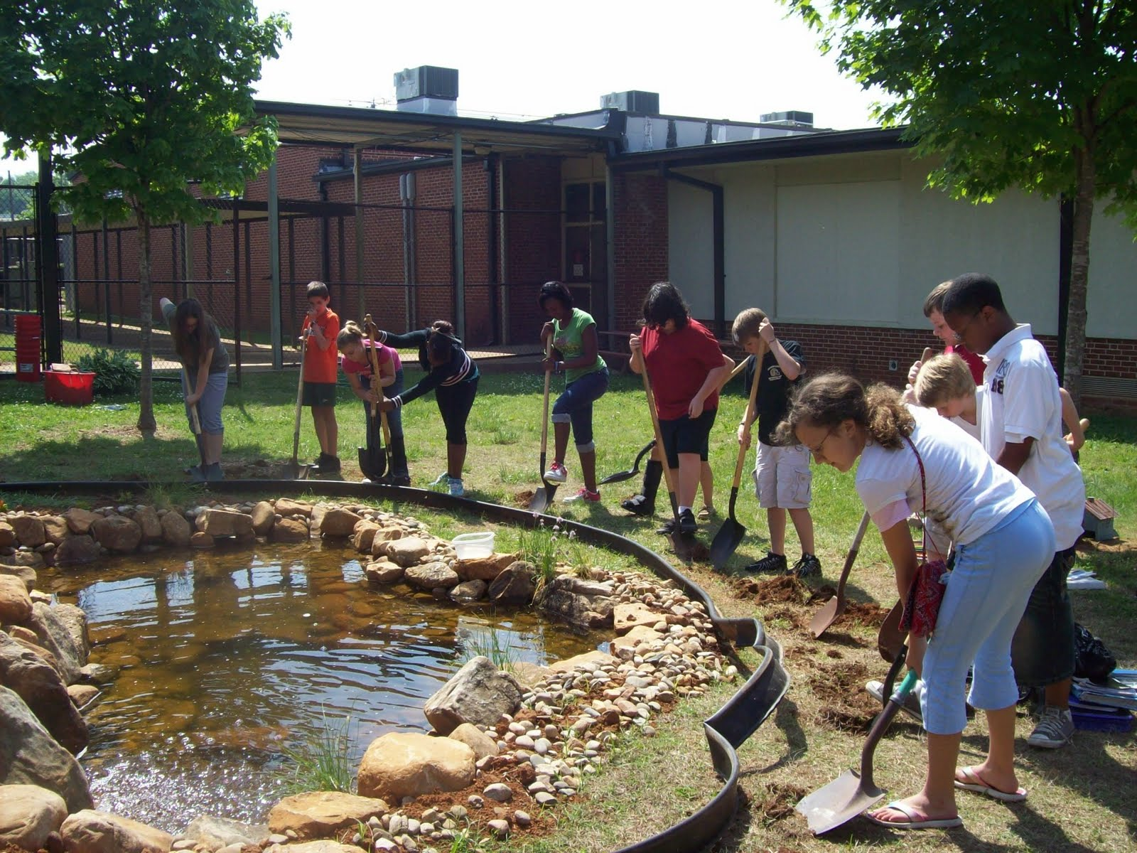 Outdoor Classroom Ideas Elementary School ~ Whitesburg middle school outdoor classroom