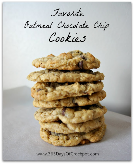 Best Recipe for Oatmeal Chocolate Chip Cookies