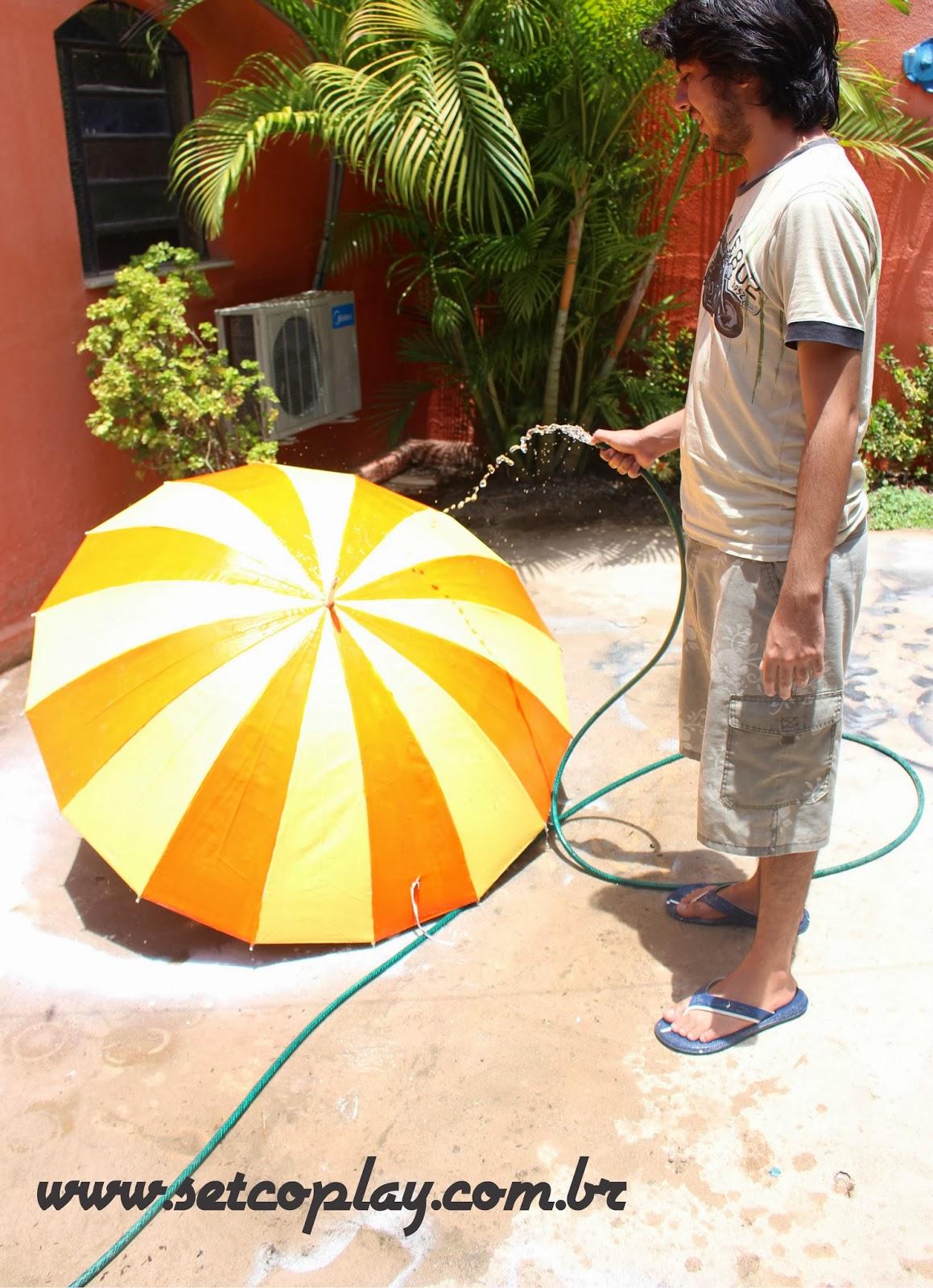 Como estilizar o seu Guarda-Chuva ou Guarda-Sol
