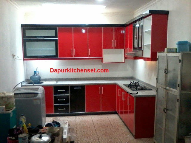 jasa kitchen set bekasi murah kitchen set murah bagus