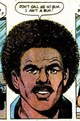 That's quite the afro, Richard.