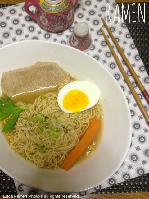 Ricetta del Ramen giapponese