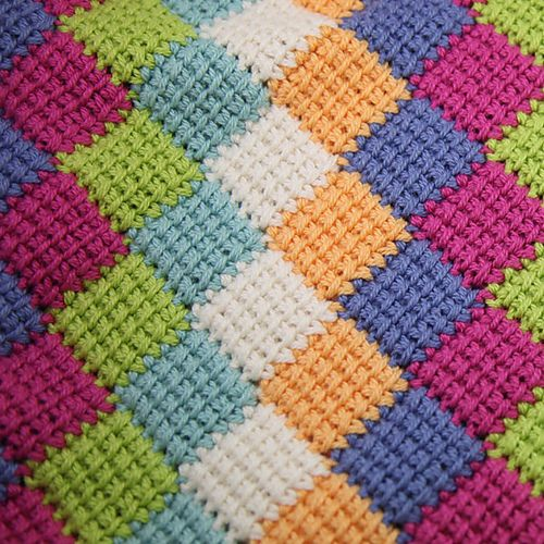 Crochet Entrelac : Entrelac crochet