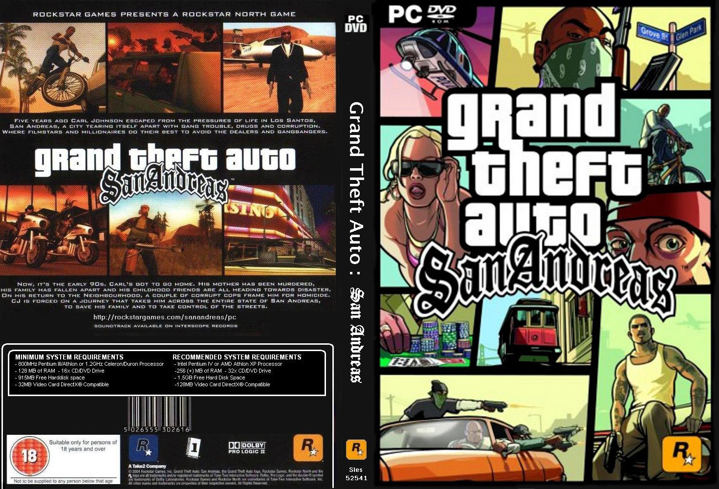 Cheat grand theft auto : san andreas pc