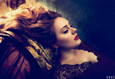 Adele en la portada de Vogue 18