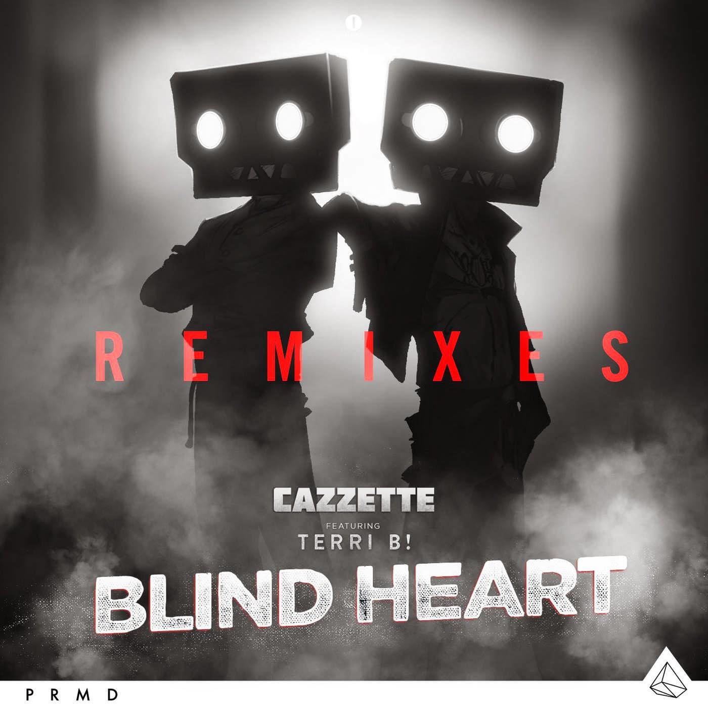 Cazzette - Blind Heart Remixes - EP  Cover