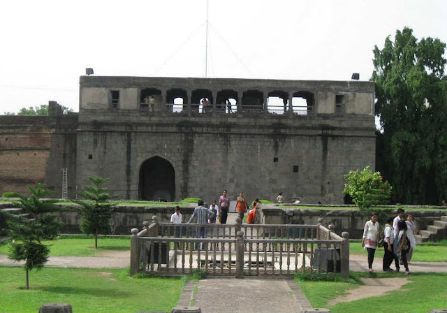 Exquisite Garden in Shaniwarwada Fort
